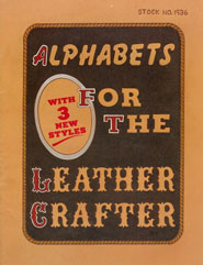 Alphabets for the Leather Crafter