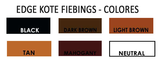 Edge Kote Fiebings - colores