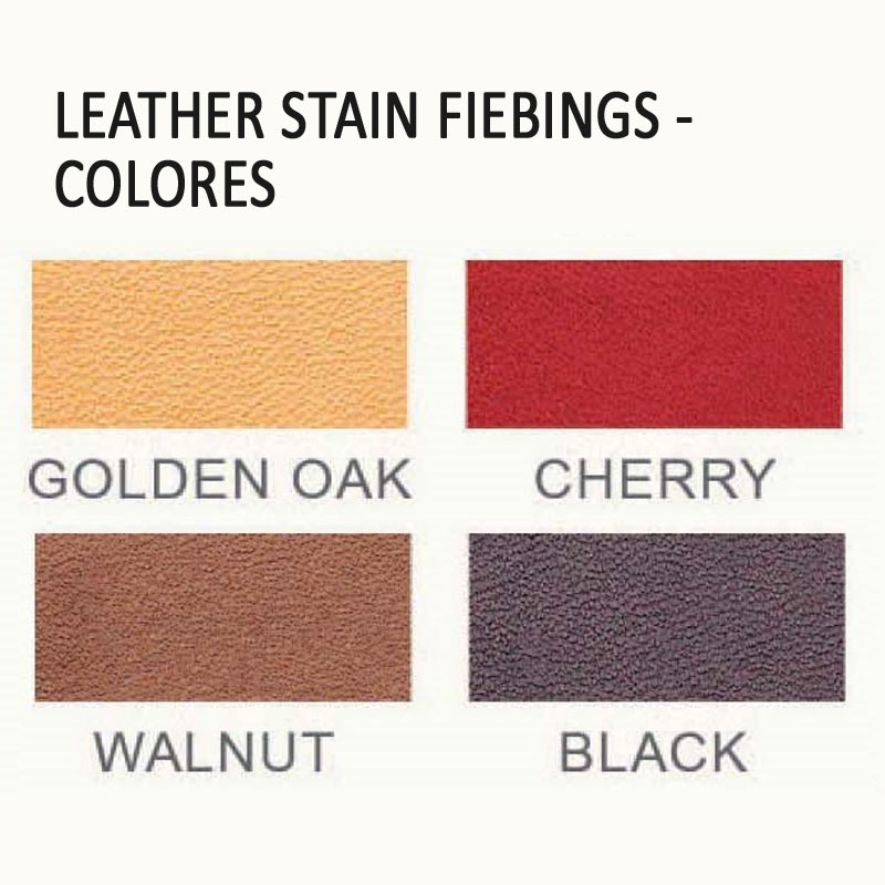 Leather Stain Fiebings - colores