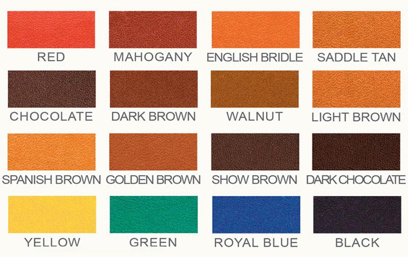 Pro Oil Dye carta de colores