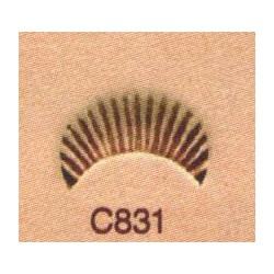 Troquel de camuflaje C831