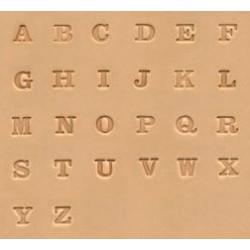 """Alfabeto  de 1/4"""" - 6,5mm"""
