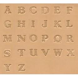 """Alfabeto de 3/8"""" - 9,5mm"""