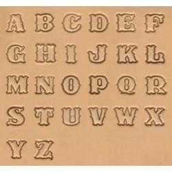 """Alfabeto con números de 1/8"""" - 3mm"""