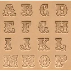 """Alfabeto de 3/4"""" - 19mm"""