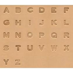 """Alfabeto de 1/2"""" - 13mm"""