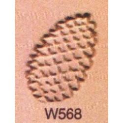 Troquel de flores y piñas W568