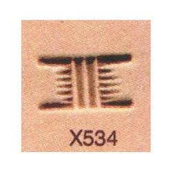 Troquel de tejido cesta X534