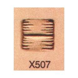 Troquel de tejido cesta X507