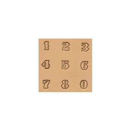 """Números de 1/2"""" - 13mm"""