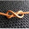 Cordón de cuero de 2,5mm