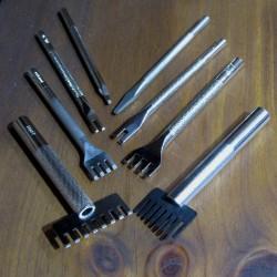 Tenedores rectos