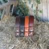 Cinturón cuero 4cm oro viejo - varios colores