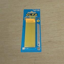Cuchillas repuesto cúter  9mm 10u. - OLFA Japan