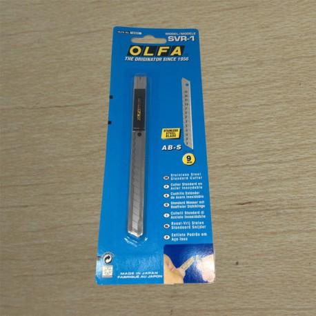 Cúter estándar metálico dos usos 9mm - OLFA Japan