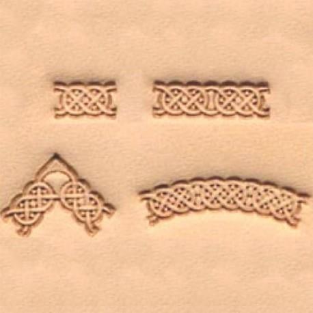 Set troqueles Tejido triangular