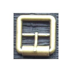 Hebilla doble 3cm oro viejo