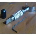 Cuchilla giratoria pequeña regulable