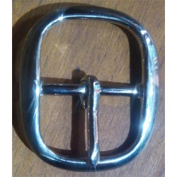 Hebilla latón 32mm doble níquel