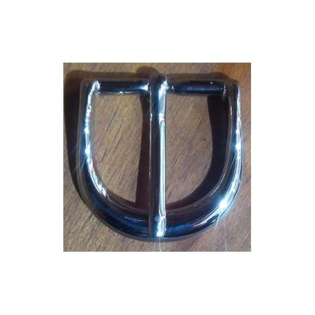 Hebilla latón 31,5mm níquel