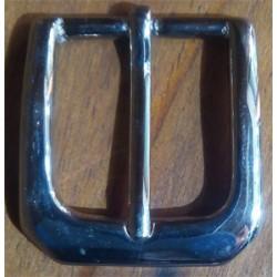 Hebilla latón 30mm níquel