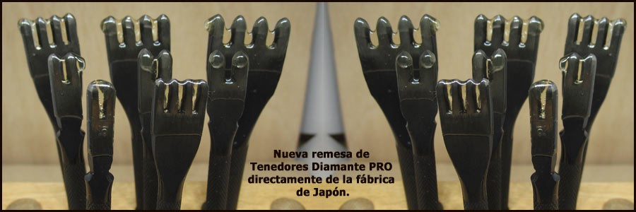 TENEDORES DIAMANTE PRO - MADE IN JAPAN